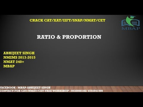 Ratio and Proportion shortcut tricks