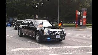 The Beast Auto Kolonne Donald Trump President G20 Hamburg 2017