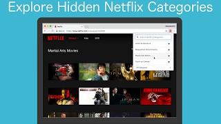 Introducing Netflix Categories Chrome Extension thumbnail