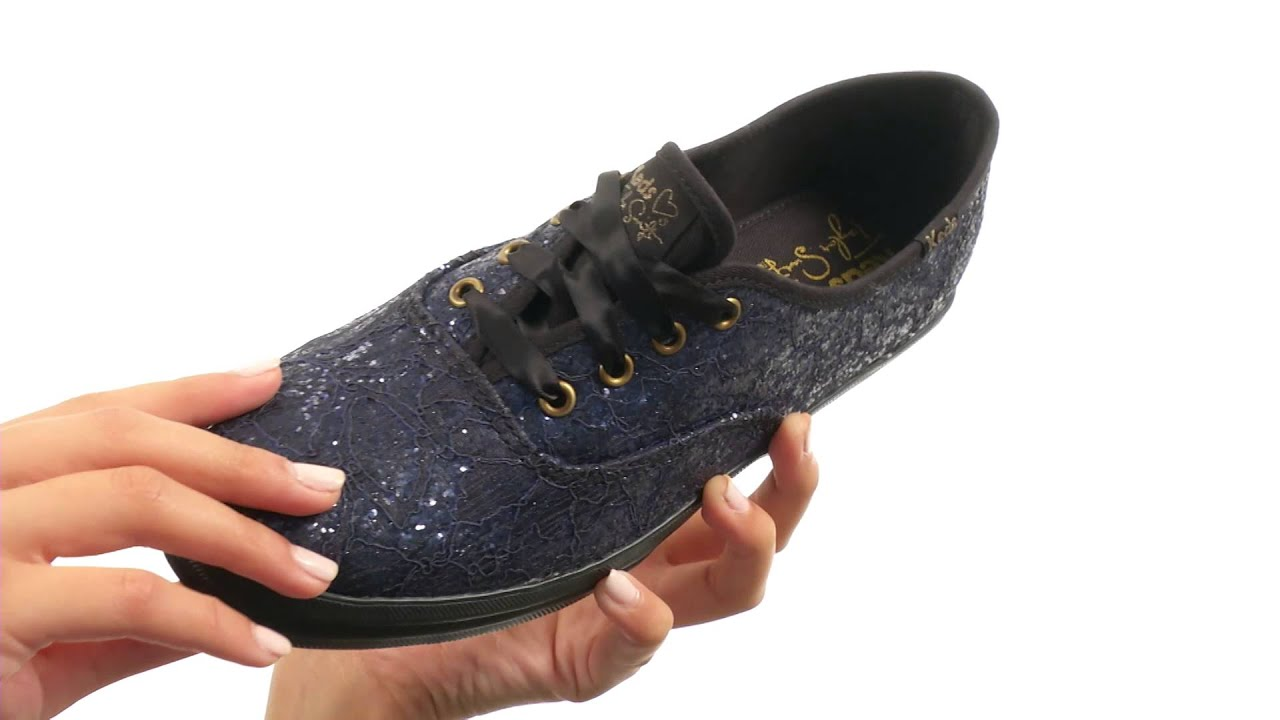 f82ea18369c1a Keds Taylor Swift s Champion Glitter Lace SKU 8588812 - YouTube