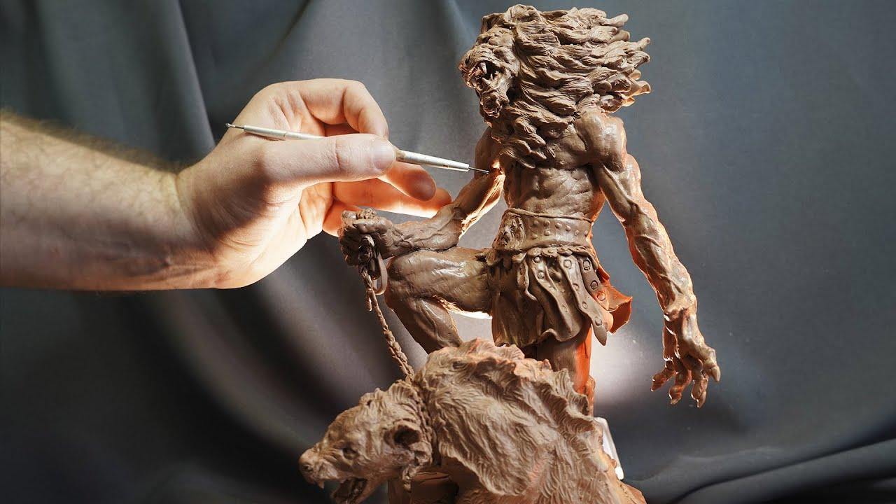 ЦАРЬ ЗВЕРЕЙ / лепка персонажа из пластилина