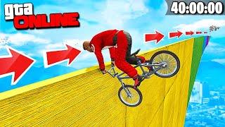 БЕСКОНЕЧНЫЙ СЛАЙД НА РУЛЕ BMX! АВТОР СОШЕЛ С УМА! 40 МИНУТ АДА В GTA 5 ONLINE