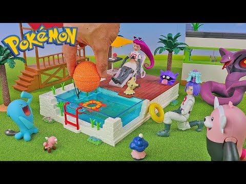 Pokemon Vacation #2 - New PokeBall Bath Bomb - Surprise Toys