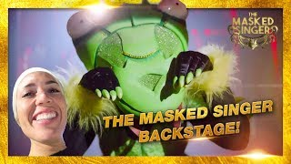 THE MASKED SINGER | BACKSTAGE MET DE BIDSPRINKHAAN | By Nienke Plas
