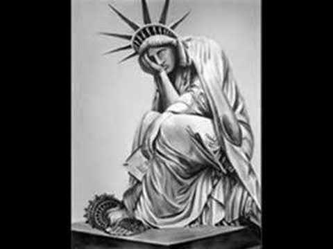 """""""Sad Statue"""" of  Liberty SOAD"""