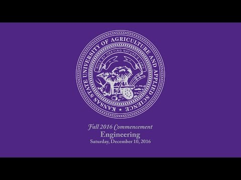 K-State Commencement - Fall 2016 | Engineering