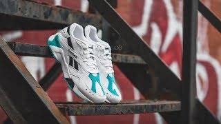 "Cover images Reebok Aztrek ""White / Solid Teal"": Review & On-Feet"