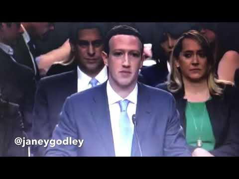 Zuckerberg hearing in Glasgow (wait for the end)