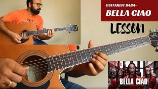Bella Ciao Full Song   La Casa De Papel   Money Heist   Netflix   Guitar Lesson  Guitarist baba