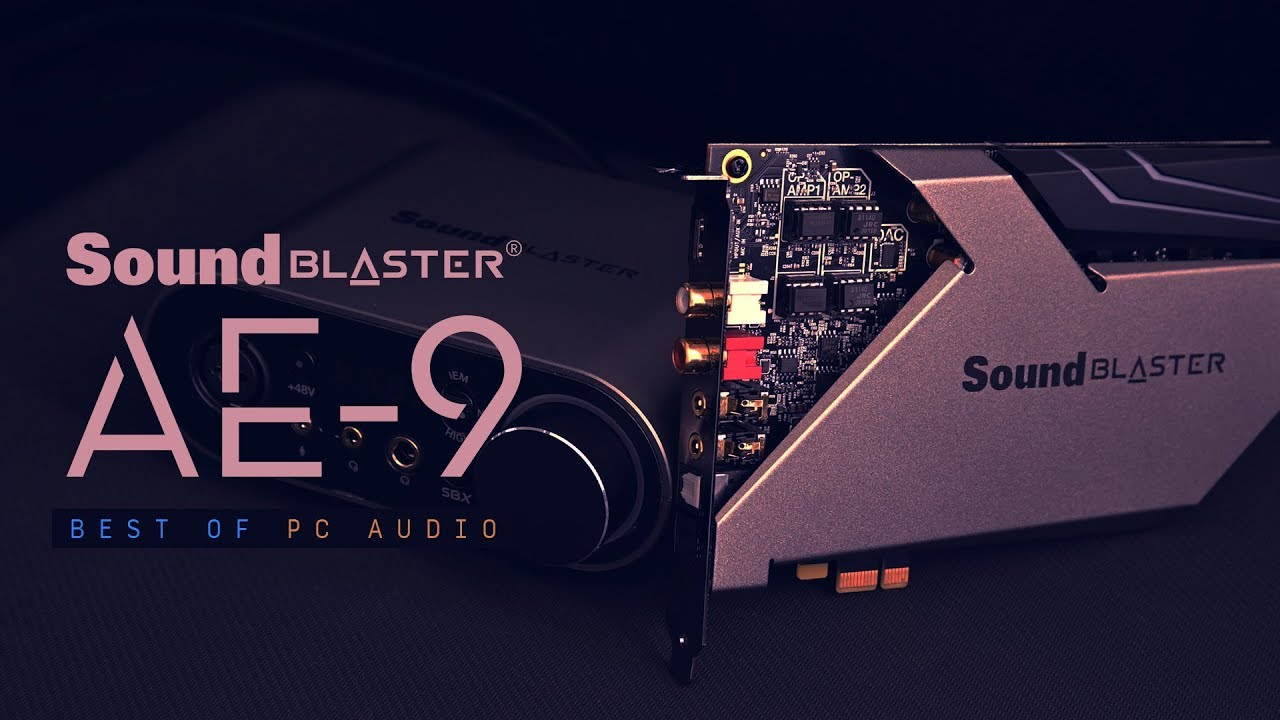 Sound Blaster AE 9 Internt Lydkort Lydkort
