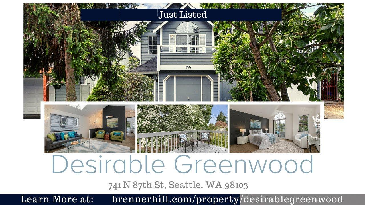 741 N 87th St, Seattle, WA 98103 MLS# 1618834 BrennerHill