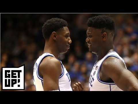 Has Zion Williamson surpassed RJ Barrett as top pick in NBA Draft? | Get Up! thumbnail