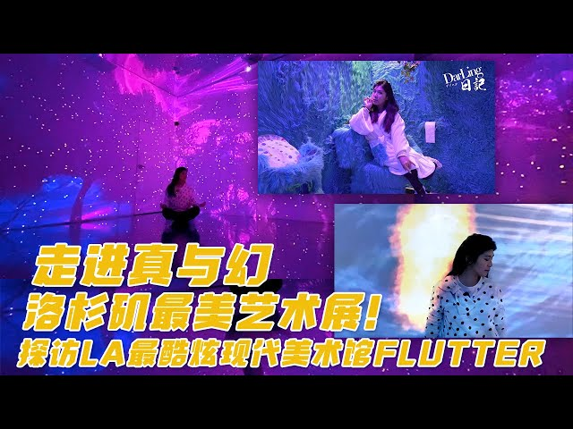 【Darling Vlog】探访洛杉矶最美艺术展Flutter Art Gallery, LA