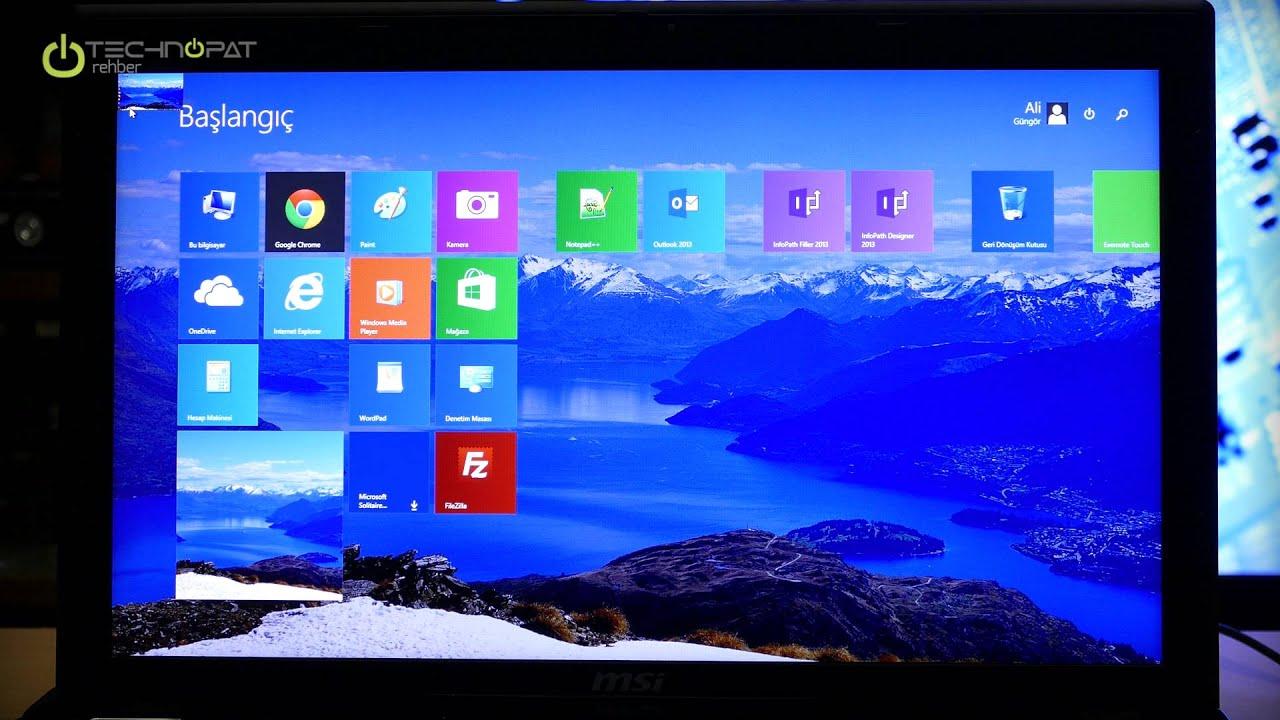 Windows 8.1 Veri Yedekleme ve Geri Yükleme Rehberi