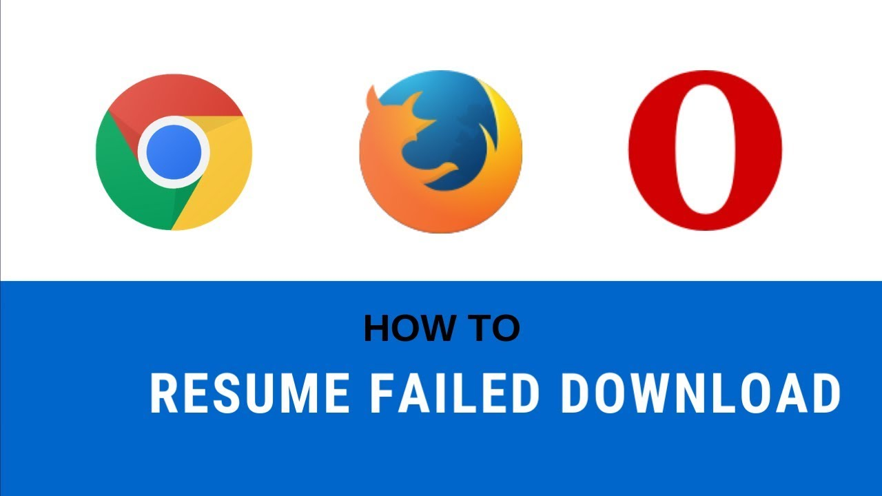 How To Resume Failed Download In Uc Browser Chrome