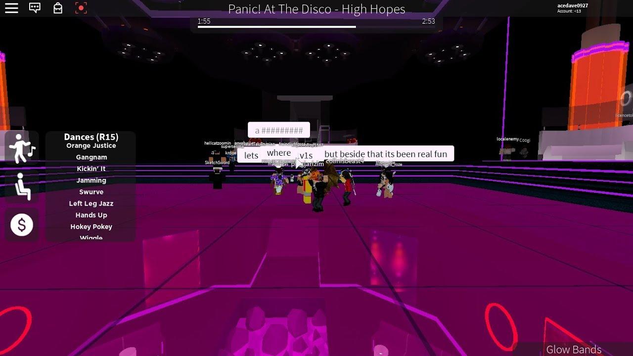 Club Iris Roblox Youtube