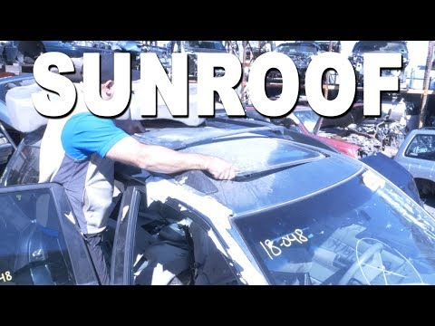 How To Remove and Replace a Sunroof Glass – 2001 Subaru Forester