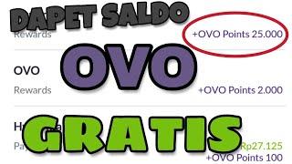 DAPET SALDO GRATIS DARI APLIKASI OVO 25.000!!! 💯% CASHBACK