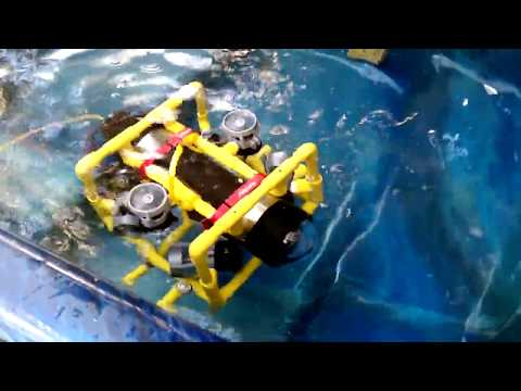 First Live Test of Submersible Rover ROV 20180414 103855