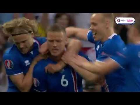 England vs Iceland: Euro 2016 – Ragnar Sigurdsson (6')