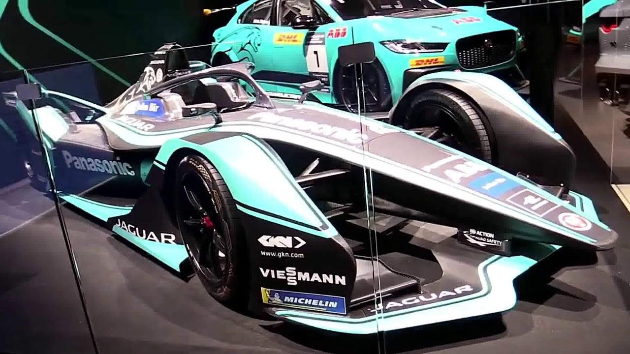 2019 Jaguar Formula E Electric Race Car - YouTube