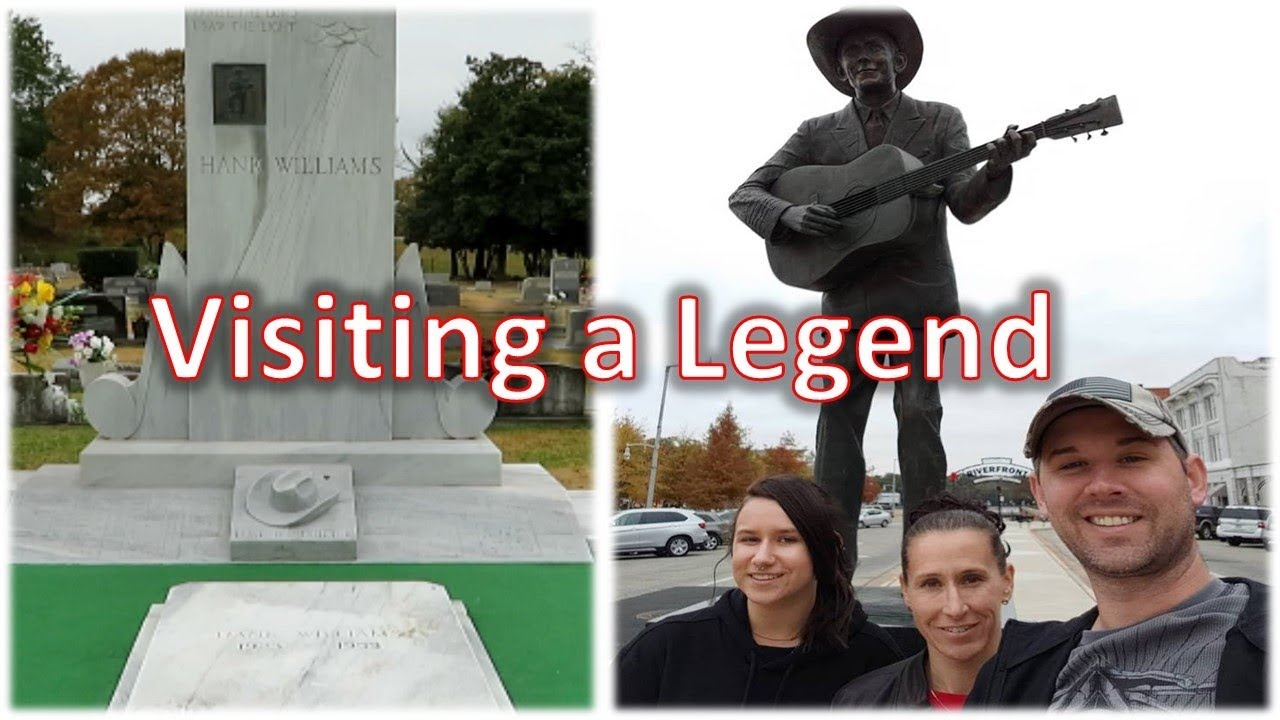 Hank Williams Sr.  Museum and Grave Site