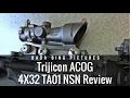 Trijicon ACOG TA01NSN 4x32: The Classic Battle Sight.
