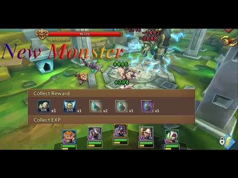 Lords Mobile New Monster Noceros With Necores Set