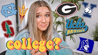 i applied to 12 out of state schools! college decision reaction 2019 (ucla, yale, stanford, etc)