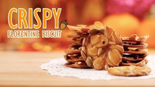 How To Make Crispy Florentine Cookie