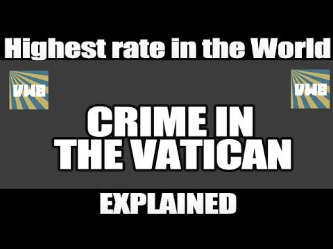Vatican City Crime Rate Explained