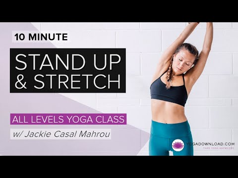 Stand Up and Stretch - FREE CLASS
