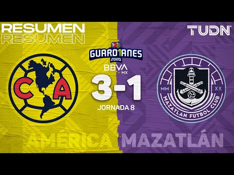 Club America Mazatlan FC Goals And Highlights