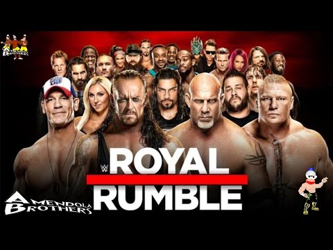 WWE 2K17 : Pronostico Royal Rumble match (ROYAL RUMBLE 2017)