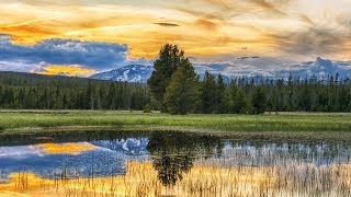 Peaceful music, Relaxing music, Instrumental Music 'Yellowstone National park' by Tim Janis