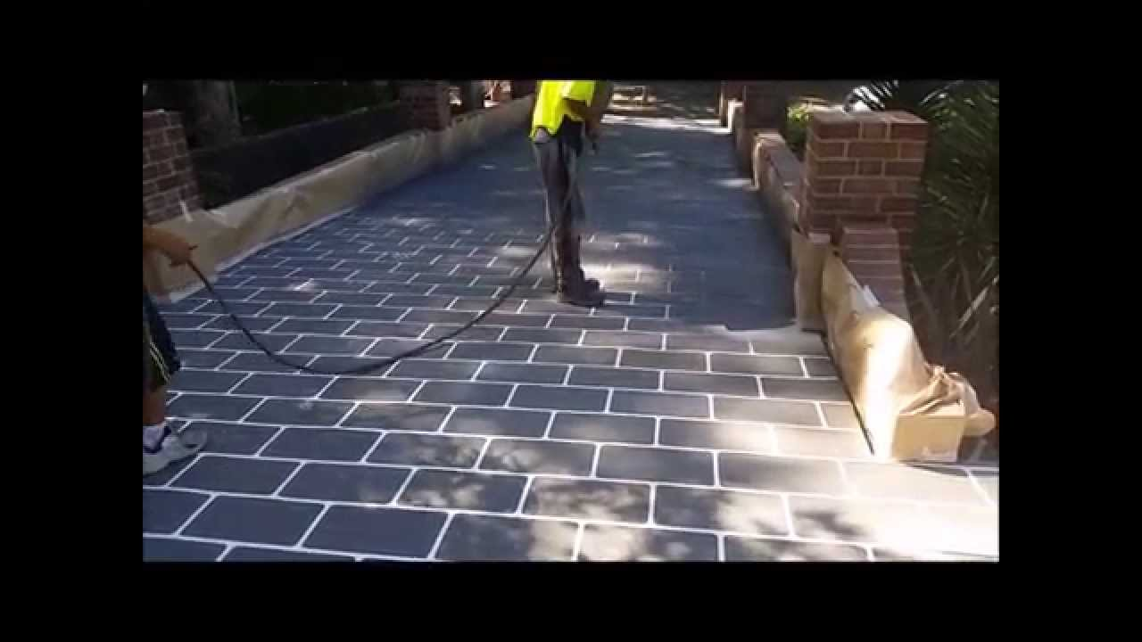 How to concrete resurface sydney driveway youtube video youtube solutioingenieria Gallery