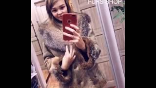 JACKET COLLAR AND CUFFS REAL FUR FOX. Sale shop fur fox mink coats hats collars cuffs hoods plaids