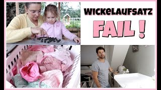 SSW#28 😍 ERSTE Babywäsche   Wickelaufsatz FAIL 😫 Sneak Peek Schrebergarten   FamilyVlog #272