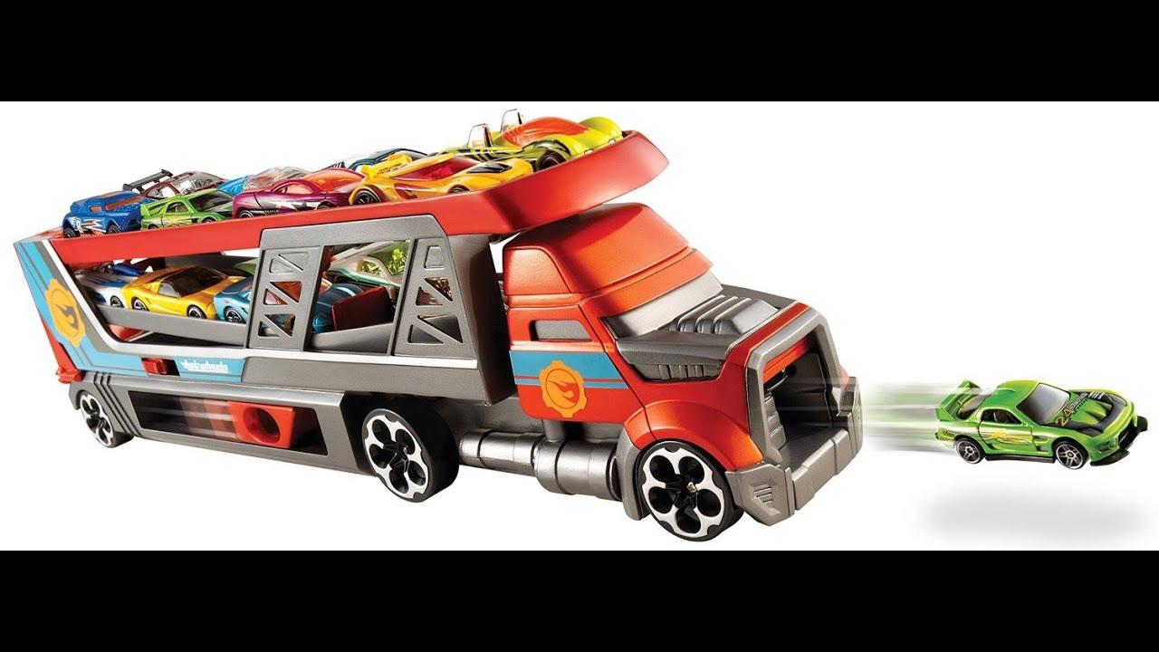 Transport City Autos Hot Camion Wheels Blastin Rig Jouet lFK3TJ1c