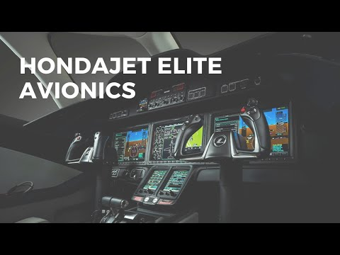 HondaJet Elite Garmin G3000 Avionics New Features