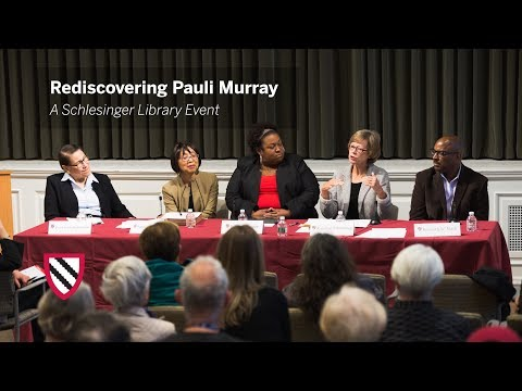 Rediscovering Pauli Murray || Radcliffe Institute