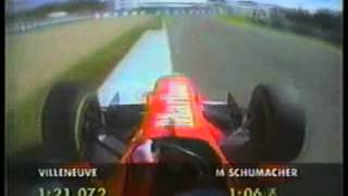 1997 - F1 - 3-Way Tie in Qualifying during European GP