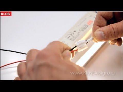 Профильный светодиодный светильник своими руками