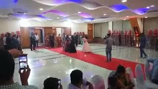 Wedding entry Tukur Tukur and banja tu meru rani