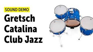 Gretsch Catalina Club Jazz - Sound Demo