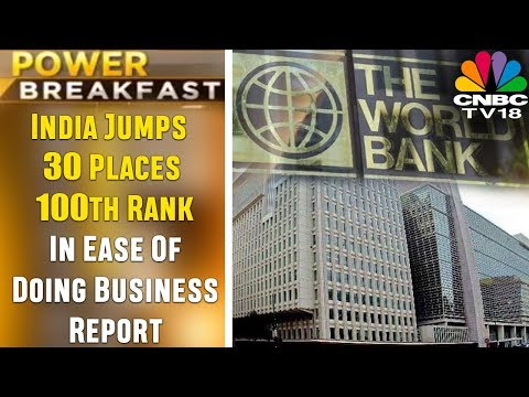 India Jumps 30 Places to 100th Rank In Ease Of Doing Business Report | CNBC TV18