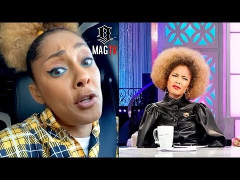 "Amanda Seales Responds To Rolling Her Eyes On ""The Real"" Rumor!"