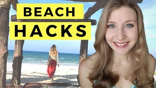How to keep your stuff safe while you swim | Beach Hacks for...