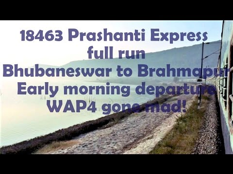 SH05|Short Run|CHILIKA LAKE & Coastal Odisha|On board PRASHANTI Express|ECoR