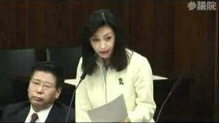 三原じゅん子さんは他の熟練の議員さんから見ればまだまだ技術的にも未...